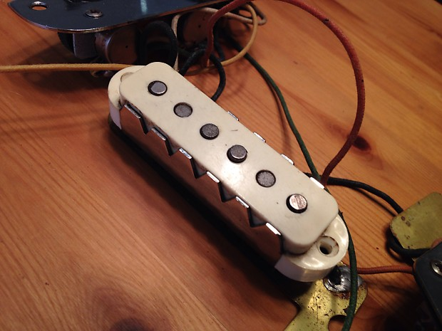 1964 Fender Jaguar Pickups And Complete Wiring Harness