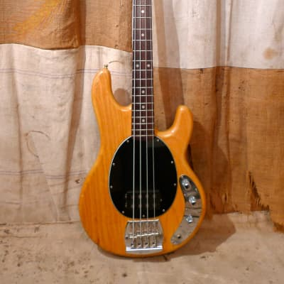 Music Man Stingray Bass 1980 Natural / Rosewood for sale