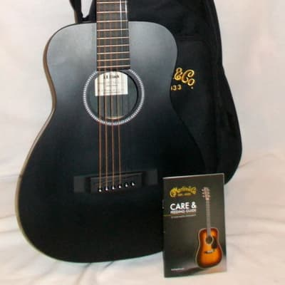 Martin LX Black Little Martin With Case