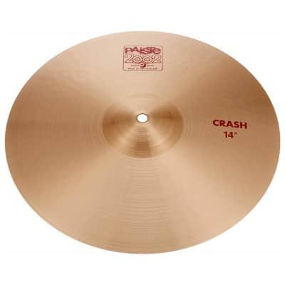 """Paiste 2002 Classic Crash Cymbal Natural - 14"""""""