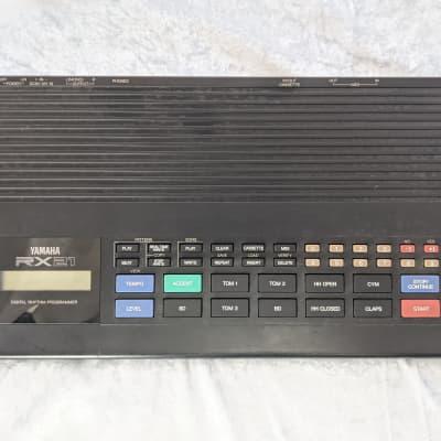 Yamaha RX21 80's Black Japan Drum Machine