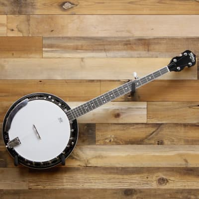 Washburn American B11 5-String Banjo Natural Gloss with Hardshell Case
