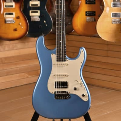 Schecter Traditional Made in USA Route 66 Santa Monica HSS Deep Ocean Blue for sale