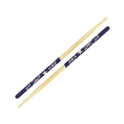 Zildjian ZASRS Ringo Starr Artist Series Wood Tip Hickory Drumsticks with Purple DIP