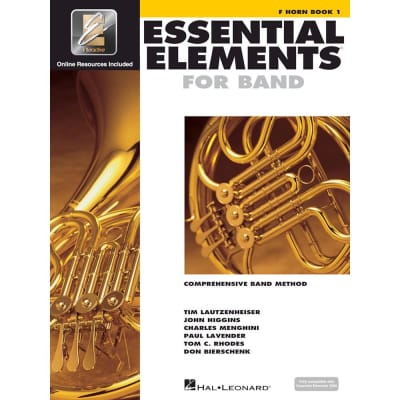 Hal Leonard Essential Elements for Band - F Horn Book 1 with EEi