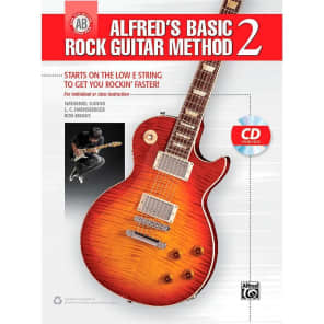 Alfred 00-42286 Alfred's Basic Rock Guitar Method 2 Book/CD