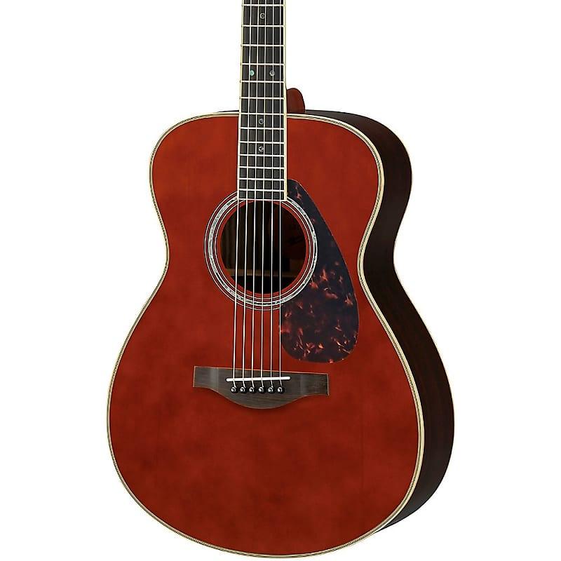 yamaha ls16 small body acoustic electric guitar regular dark reverb. Black Bedroom Furniture Sets. Home Design Ideas