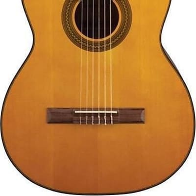 Takamine G Series Lefty GC1CELH-NAT Acoustic-Electric Classical Cutaway Guitar, Natural, GC1CELHNAT for sale