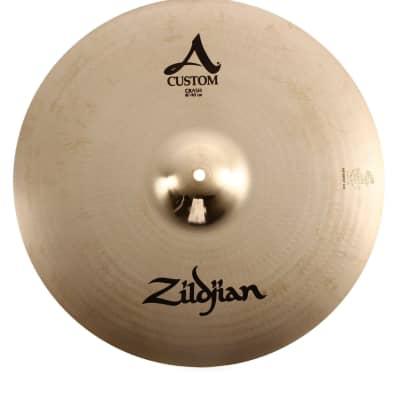 """Zildjian 16"""" A Custom Crash Cymbal"""