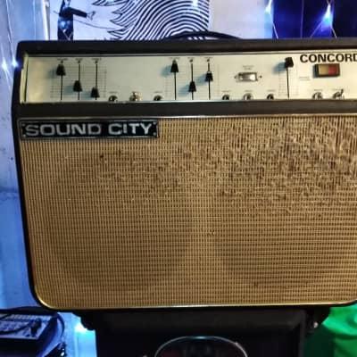 Vintage Sound City Concord Amp (1969-70 ) for sale