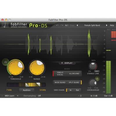 FabFilter Pro-DS De-Esser Software (Download)