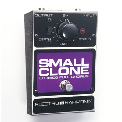 Electro-Harmonix Small Clone Analog Chorus Guitar Effects Pedal