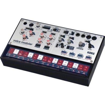 Korg Volca Modular Semi-modular Analog Synthesizer, 16-step Sequencer