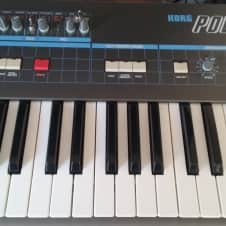 Korg Poly-61, with extensive modifications and MIDI