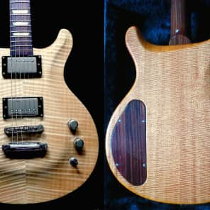 Gadow Custom Special Setneck Flamed Maple Mahogany Rosewood Neck Natural Duncan 2007 -- $522 off NOW for sale