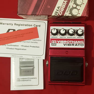 DOD Vibro Thang FX22 Tremolo/Phaser Pedal for sale