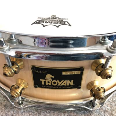 Troyan Snaredrum Stave 2009 Maple Open Pore Laquer