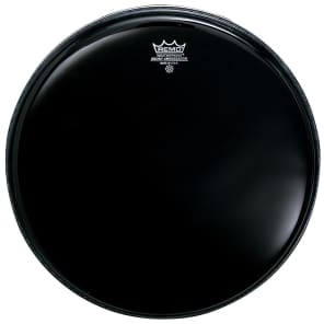 Remo Ambassador Ebony Drum Head 8""