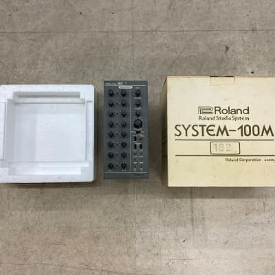 Rare ! Boxed Roland System 100M Module 182 Sequencer serviced !