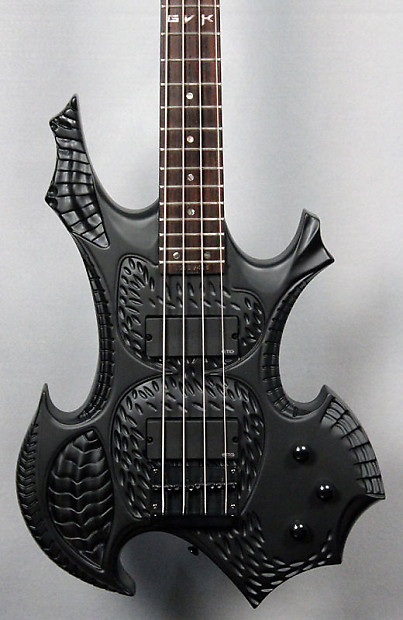 halo custom guitars gvk 4 string bass emg 35dc active reverb. Black Bedroom Furniture Sets. Home Design Ideas