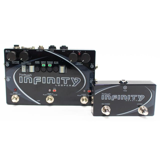PIGTRONIX INFINITY LOOPER BUNDLE State of the Art Looping Guitar Pedal with Remote Switch image