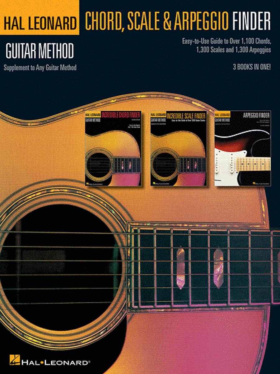 Hal Leonard Guitar Chord Scale Arpeggio Finder Reverb