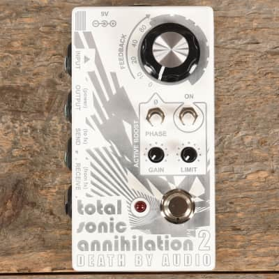 Death By Audio Total Sonic Annihilation 2 Feedback Looper with Active Boost and Limiter USED