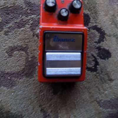 Ibanez PT-9 Phaser Shifter Pedal 1980s Orange