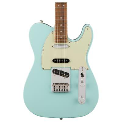 Fender Deluxe Nashville Telecaster Electric Guitar, Pau Ferro FB, Daphne Blue