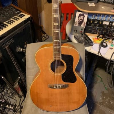 TERADA Vintage Jumbo Acoustic 1960s  Blonde Flagship Martin Gibson for sale