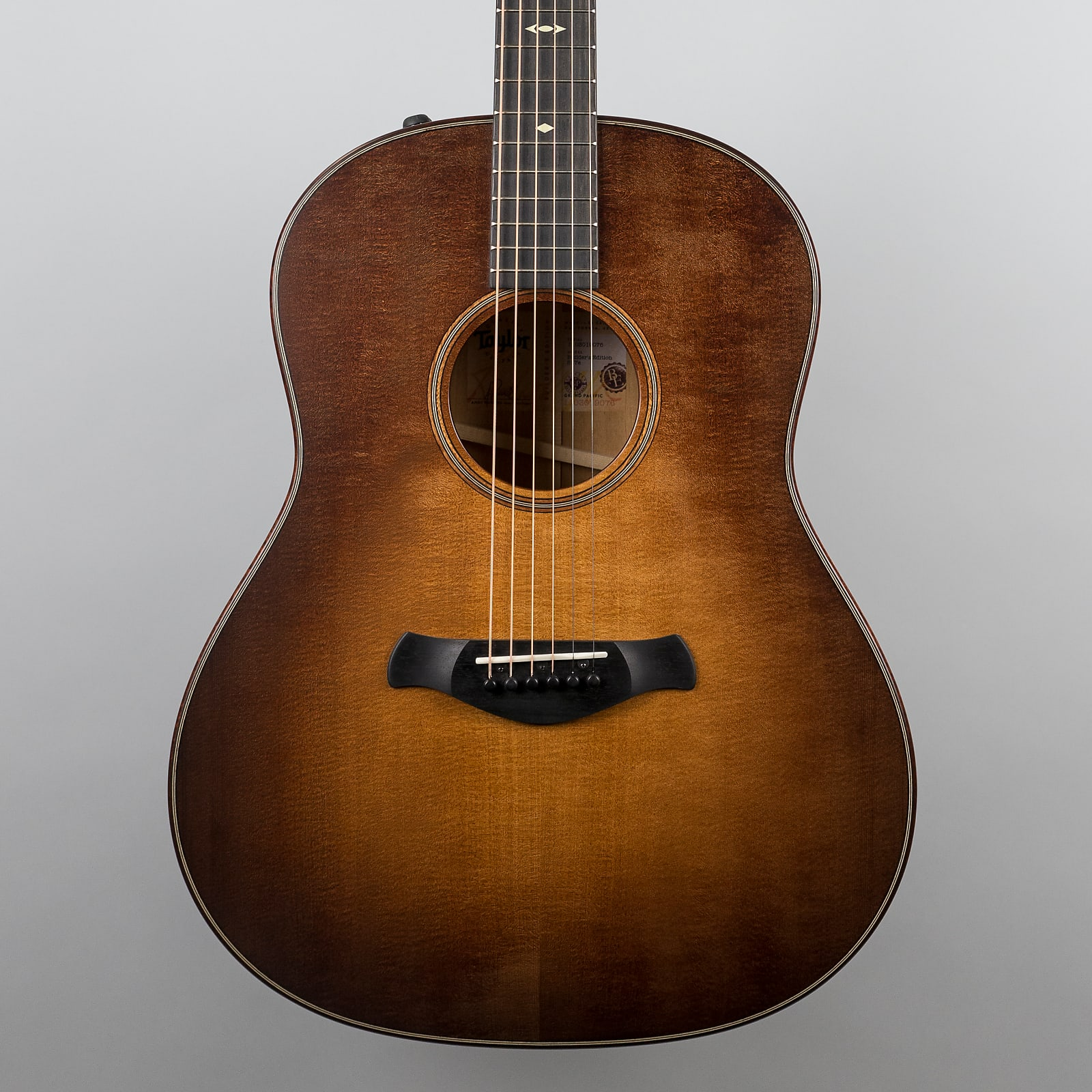 Taylor 517e Builder's Edition Grand Pacific, V-Class Bracing, Wild Honey Burst Finish