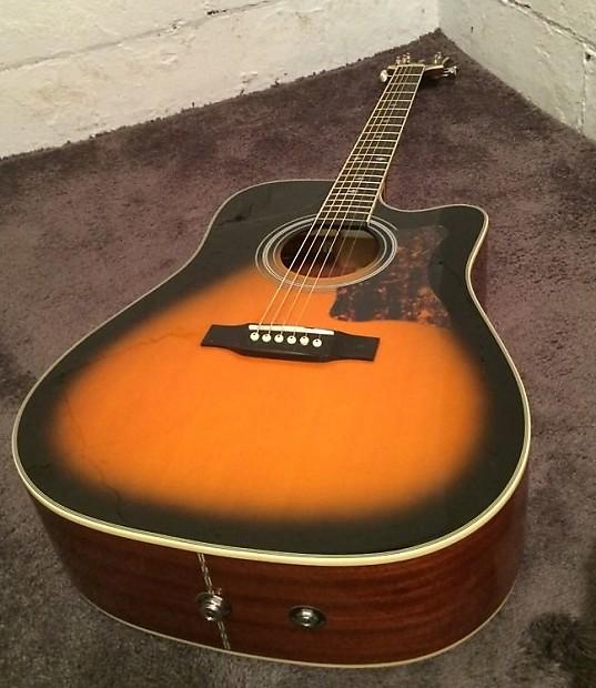 Gibson Epiphone Masterbilt Dr 500mce Acoustic Electric