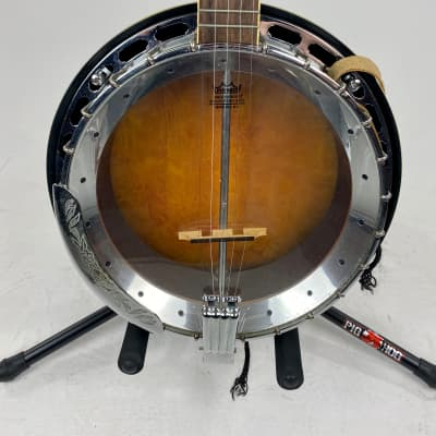Vintage Samick Banjo Sunburst for sale