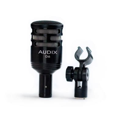 Audix D6 Professional Dynamic Instrument Microphone