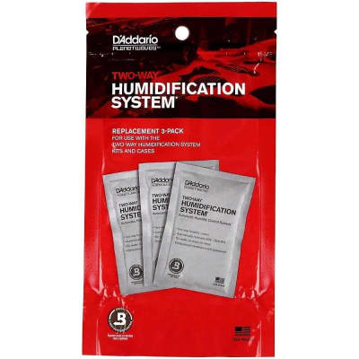 Planet Waves Humidipak System Replacement 3 Pack