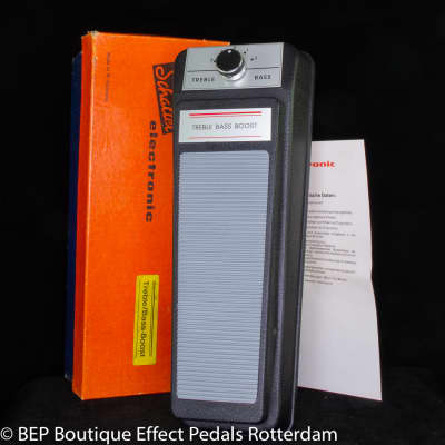 Museum Quality NOS Schaller Treble Bass Booster 1987 made in West Germany