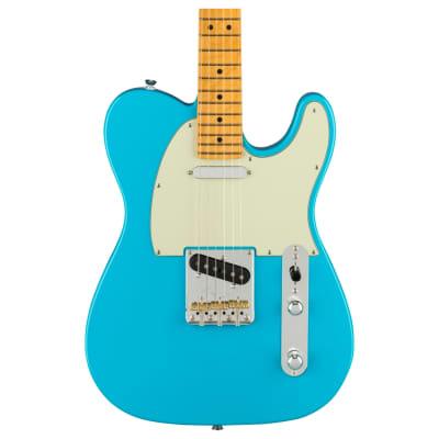 Fender American Professional II Telecaster, Maple Fingerboard, Miami Blue