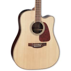 Takamine GD93CE-NAT Dreadnought Cutaway Acoustic-Electric Guitar, Natural for sale