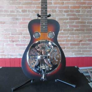 Recording King RR-65 Performer Squareneck Resonator Satin Brown Sunburst