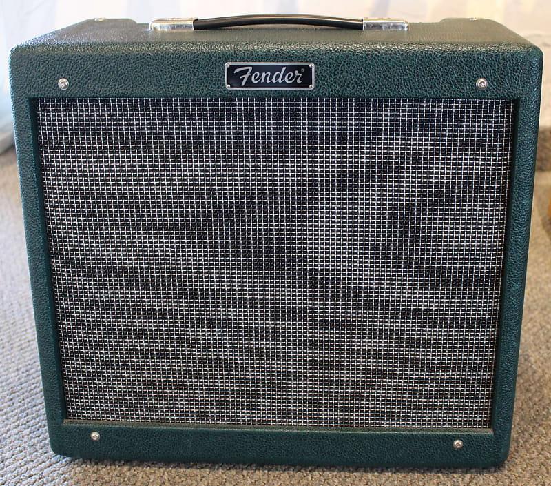 Used Fender Blues Junior FSR Limited Edition Emerald Green