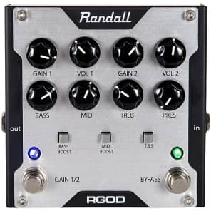 Randall RGOD Guitar Preamp Pedal Regular for sale