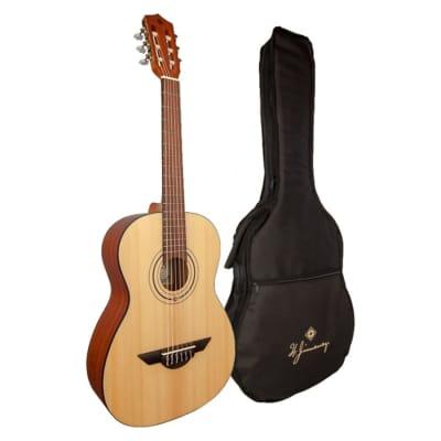 H. Jimenez Educativo LG75 3/4 Size Nylon String Classical Guitar w/ Gig Bag for sale