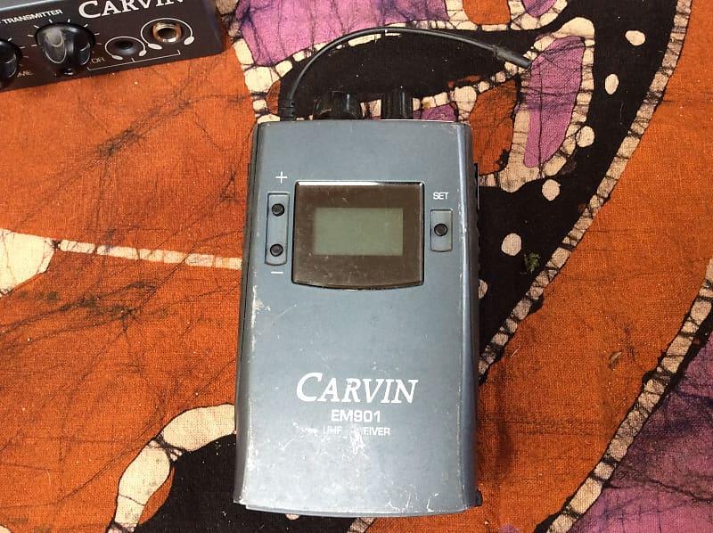 carvin em900 in ear monitor system reverb. Black Bedroom Furniture Sets. Home Design Ideas