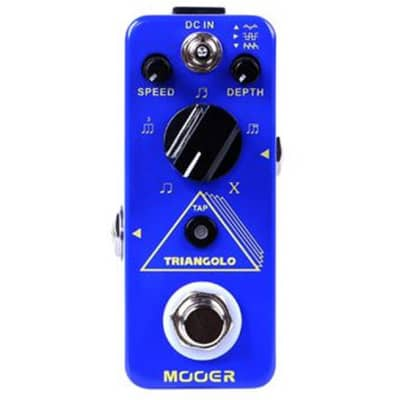Mooer Micro Series Trelicopter Optical Tremolo Effects Pedal BRAND NEW  MTR1