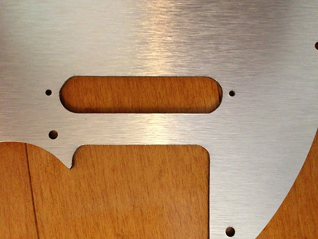 Fender Telecaster Brushed Aluminum Pickguard Metal Tele