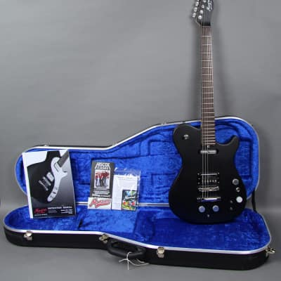 2016 Manson MA2 Evo Z-Vex Electric Guitar Satin Black w/OHSC for sale