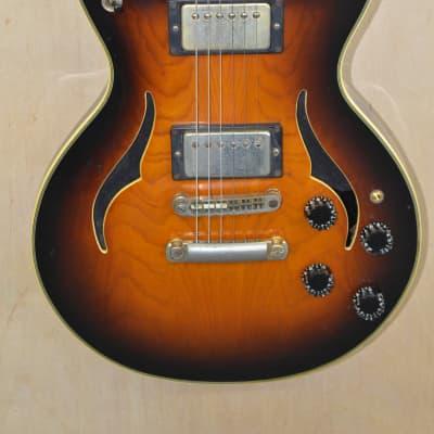 Vantage VE-565 Entertainer 1980's Tobacco Burst for sale