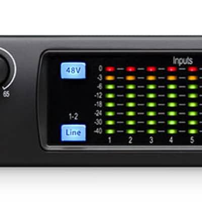 Presonus STUDIO 1824C 18x18 USB-C Audio Recording Interface w/8 XMAX Mic preamps