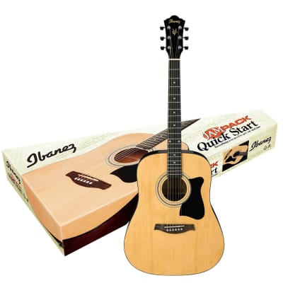 Ibanez IJV50 Spruce / Agathis Dreadnought Package