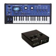Novation Mininova Compact Studio live Synth W/ Audio USB Hub 2 x 4 Audio Interface